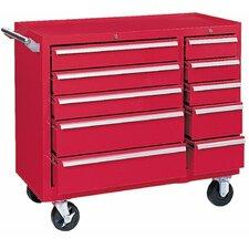 "39.375"" Wide 10 Drawer Bottom Cabinet"