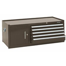 """43.75"""" Wide 5 Drawer Middle Cabinet"""