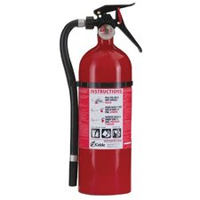 <strong>Kidde</strong> Excel Line™ Multi-Purpose Dry Chemical Fire Extinguishers - ABC Type - service lite line 5lb with wall hanger