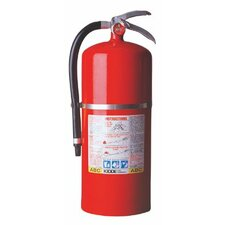 ProPlus™ Multi-Purpose Dry Chemical Fire Extinguishers - ABC Type - tri class tri chemical steel cylndr extinguisher