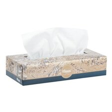Kleenex® Facial 2-Ply Tissues - 100 Tissues per Box / 36 Boxes per Carton