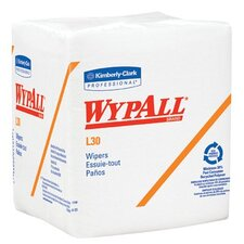 WypAll® L30 Wipers - wypall l30 economizer wipers wht q-fold 12bx/ca