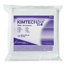 Kimtech Pure® CL4 Critical Task Wipers - white 3 ply cl4 criticaltask wipers