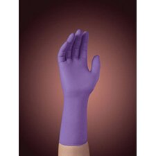 "<strong>Kimberly-Clark</strong> Purple 12"" Nitrile-Xtra* Nitrile Ambidextrous Powder-Free Disposable Gloves With Textured Finger Tip Finish And Beaded Cuffs (50 Each Per Box)"
