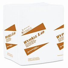 Professional* Wypall L40 Cloth-Like Wipes, 100/Box, 9/Carton