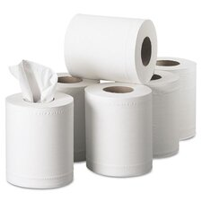 Professional Scott Center 2-Ply Paper Towels - 250 Sheets per Roll / 6 Rolls per Carton