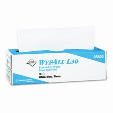 Professional* Wypall L30 Wipers, 100/Box, 8/Carton