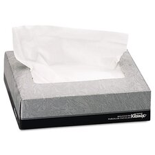 Professional Kleenex Facial 2-Ply Tissue - 65 Tissues per Box / 48 Boxes per Carton