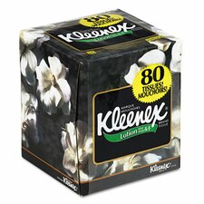 Professional Kleenex Lotion Facial 3-Ply Tissue - 75 Sheets per Box