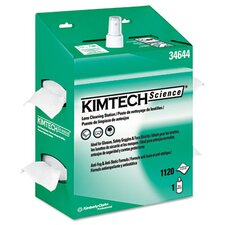 <strong>Kimberly-Clark</strong> Professional* Kimtech Science Kimwipes Lens Cleaning, 1120 Wipes/Box, 4/Carton
