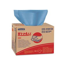 Professional Wypall X80 Wipers Tissues - 160 Tissues per Box