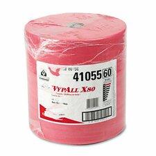 Professional Wypall X80 Towels - 475 Sheets per Roll / 1 Rolls per Carton
