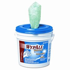 Professional* Wypall Waterless Hand Wipes, 75/Bucket, 6 Buckets/Carton