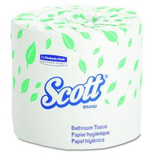 <strong>Kimberly-Clark</strong> Scott Standard Bath Tissues in White