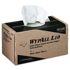 Wypall L10 Utility Wipes - 125 Wipes per Pack
