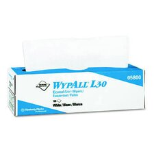 Wypall L30 Wipers, Pop-Up Box in White