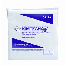 <strong>Kimberly-Clark</strong> Kimtech Pure W5 Dry Wipers Flat in White