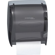 In-Sight Lev-R-Matic Roll Towel Dispenser with Microban Technology in Smoke / Gray