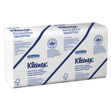 Kleenex Scott fold Paper Towels, 120/Pack in White