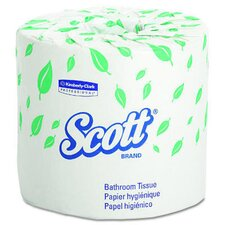 Scott Standard 2-Ply Toilet Paper - 605 Sheets per Roll