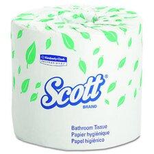 Scott Standard 2-Ply Toilet Paper - 605 Sheets per Roll