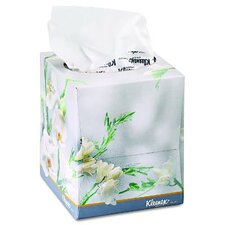 Kleenex Boutique Floral Face Tissues in White