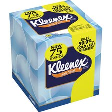 Kleenex Boutique Anti-Viral Facial Tissues, Pop-Up Box in White