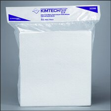 Kimtech Pure W4 Dry Wipers Flat, 100/Pack in White