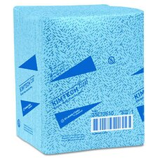 Kimtech Prep Kimtex Wipers quarter fold in Blue