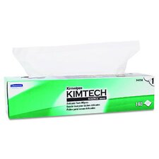 Kimtech Science Kimwipes Delicate Task Wipers, 140/Box in White