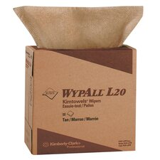 Wypall L20 Wipers, Pop-Up Box in Brown