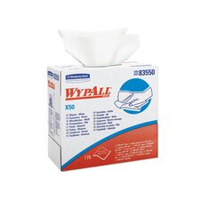 Wypall X50 Wipers Pop-Up Box in White