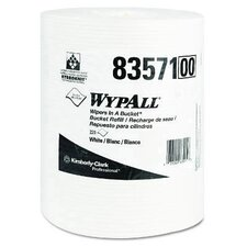 Wypall Wipers in a Bucket Refills in White