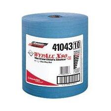Wypall® X80 Shoppro® Jumbo Wipers - 475 Sheets per Roll