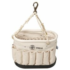 Oval Bucket w/41 Pockets - 55520 canvas bucket