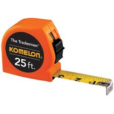 "Tradesman Measuring Tapes - 1""x25' orange tradesmanmeasuring tape 12/dsplay"