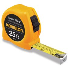 "1"" x 300"" Speed Mark Fractional Tape Measure"