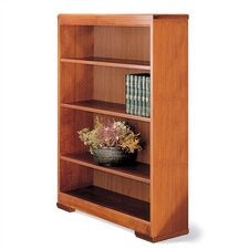 "Traditonal Series 60"" H Four Shelf Open Bookcase"