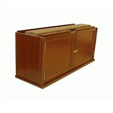300 Sectional Series Cabinet Double Receding Door Book Section
