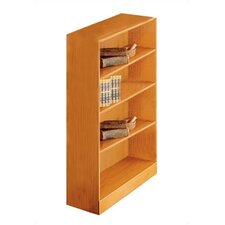 "1100 NY Series 48"" H Four Shelf Bookcase"