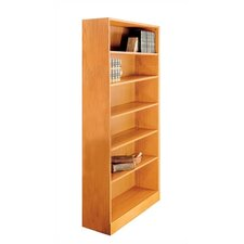 "1100 NY Series 72"" H Six Shelf Bookcase"
