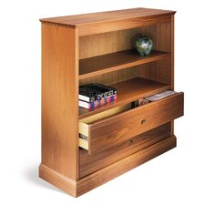 "200 Signature Series 36"" H Bookcase with CD Drawers"