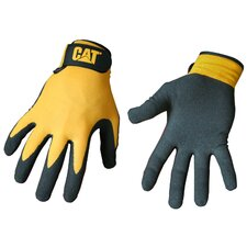 Large Yellow Foam Cell Nitrile Coated Gloves CAT0