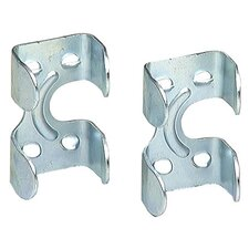 "2 Count 3/8"" & 1/2"" Zinc Rope Clamps 7045-6"