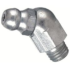 Metric Bulk Grease Fittings - 6mm 45deg. fitting