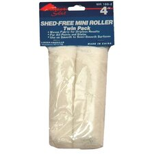 "Linzer - Roller Frames 4"" Mini Roller Lint Freefabric Twin Pack: 449-Mr100-2-4 - 4"" mini roller lint freefabric twin pack"