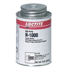 <strong>Loctite Corporation</strong> N-1000™ High Purity Anti-Seize - n-1000 8oz.bt anti-seizelubricant high purity