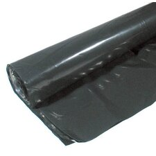 6' X 100' 6 ML Polyethylene Black Plastic Sheeting CF0606B