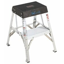 <strong>Louisville Ladder</strong> AY8000 Series Aluminum Step Stands - 4' aluminum ehd indust.step stand non-folding