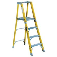 <strong>Louisville Ladder</strong> FP1100HD Series Rhino 375™ Fiberglass Platform Step Ladders - 6' monarch fiberglassplatform step ladder